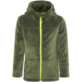 Meru Paddington Teddy Fleece Jacket Kids Forest Night